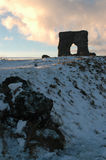 Castello di Dunnideer e fortificazione della collina, Aberdeenshire fotografia stock