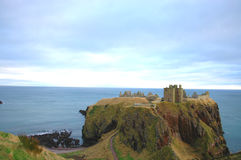 Castello di Dunnottar immagine stock libera da diritti