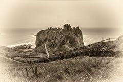 Castello di Dunnottar, Scozia Fotografia Stock