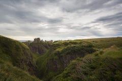 Castello di Dunottar Fotografia Stock Libera da Diritti