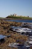 Castello di Dunstanburgh Immagini Stock Libere da Diritti