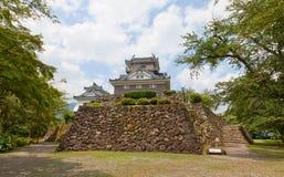Castello di Echizen Ohno a Ohno, Giappone Immagine Stock Libera da Diritti