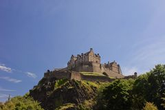Castello di Edinburgh Immagine Stock