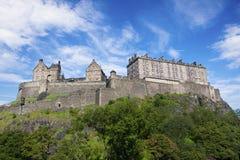 Castello di Edinburgh. Fotografie Stock Libere da Diritti