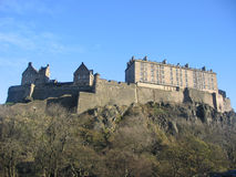 Castello di Edinburgh Immagine Stock Libera da Diritti