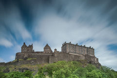 Castello di Edinburgh Fotografie Stock