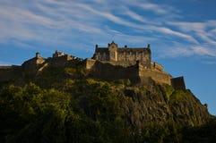 Castello di Edinburgh Immagini Stock