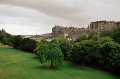 Castello di Edinburgh, Scozia Immagine Stock