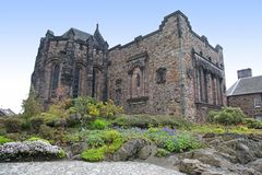 Castello di Edinburgh, Scozia, Regno Unito Fotografie Stock Libere da Diritti