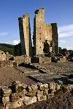 Castello di Edlingham - Alnwick - Inghilterra Immagini Stock