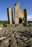 Castello di Edlingham - Northumberland - Inghilterra Fotografia Stock Libera da Diritti