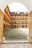 Castello di Eggenberg a Graz Fotografia Stock