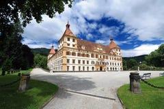 Castello di Eggenberg a Graz immagine stock