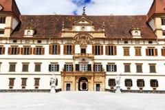 Castello di Eggenberg a Graz Fotografie Stock
