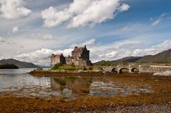 Castello di Eilan Donan Fotografie Stock Libere da Diritti