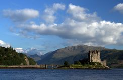 Castello di Eilean-Donan Immagini Stock