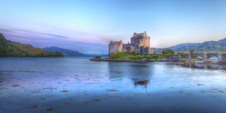 Castello di Eilean Donan Fotografie Stock Libere da Diritti