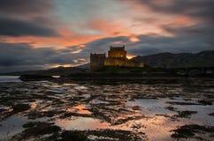 Castello di Eilean Donan Immagini Stock