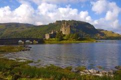 Castello di Eilean Donan, Scozia   Fotografie Stock Libere da Diritti