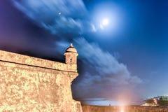 Castello di EL Morro, San Juan, Porto Rico Immagini Stock Libere da Diritti