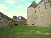 Castello di Fagaras Immagini Stock Libere da Diritti