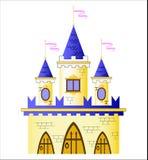 Castello di Fairy-tale illustrazione di stock