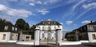 Castello di Falkenlust di rococò al ¼ hl/Germany di Brà fotografia stock libera da diritti