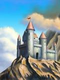 Castello di fantasia Fotografie Stock
