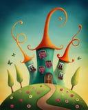 Castello di fantasia Immagini Stock
