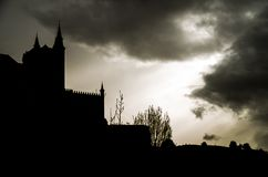 Castello di fantasia Fotografia Stock Libera da Diritti