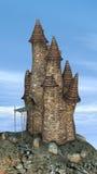 Castello di favola Immagine Stock