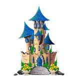 Castello di favola Illustrazione Vettoriale