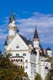 Castello di favola in Baviera fotografia stock