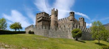 Castello di Fenis fotografia stock