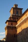 Castello di Ferrara Fotografia Stock