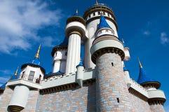 Castello di fiaba nel parco di Sazova immagine stock libera da diritti