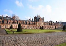 Castello di Fontainebleau fotografia stock