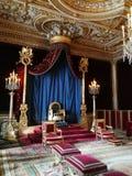 Castello di Fontainebleau fotografia stock libera da diritti