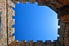 Castello di Frangocastello. fotografia stock