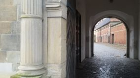 Castello di Frederiksborg dell'ingresso 02 Immagine Stock