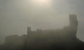 Castello di Frias fotografia stock