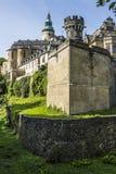 Castello di Frydlant, repubblica Ceca Fotografie Stock