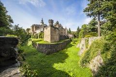 Castello di Frydlant, repubblica Ceca Immagini Stock