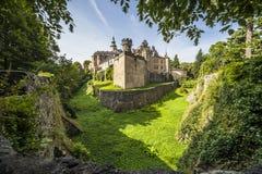 Castello di Frydlant, repubblica Ceca Fotografie Stock Libere da Diritti