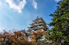 Castello di Fukuyama (lato est) Immagine Stock