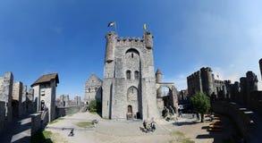 Castello di Gand fotografie stock libere da diritti