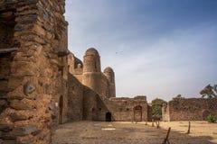Castello di Gondar Fotografia Stock Libera da Diritti