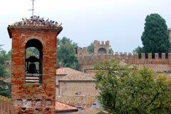Castello di Gradara Fotografia Stock Libera da Diritti