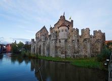 Castello di Gravensteen, Gand Fotografie Stock
