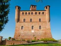 Castello di Grinzane Cavour, Piemonte, Italia fotografia stock